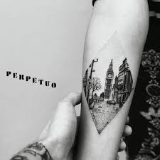 incredible big ben london dotwork tattoo u003c3 insta