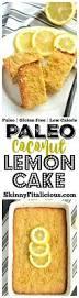 paleo coconut lemon cake gf low cal paleo skinny fitalicious