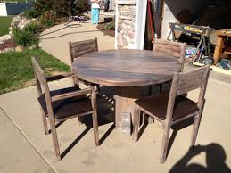 round wood dining table and chairs good round work dining table