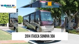 used motorhome for sale in mesa az 2014 itasca sunova 30a youtube