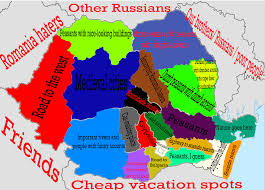 Map Of Romania Stereotypes Of Romania And Its Neighbors From The Point Of View Of