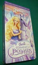 barbie magic pegasus vhs ebay