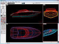 marine design software three dimensional hull design and fairing