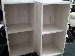 Cube Shelves Ikea by 2 Ikea Eket Cube Storage Bookcase Shelf Shelving Units 2 Cubes