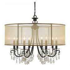 Cool Chandeliers Awesome Barrel Lamp Shade Chandeliers Design U2013 Drum Chandelier