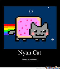 Nyan Cat Meme - nyan cat by cassiecat23 meme center