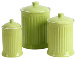 kitchen canisters and jars simsbury canisters citron set of 3 transitional kitchen
