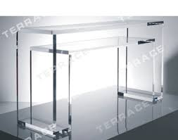 styles acrylic console table cb2 table silver console table