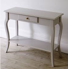 White Entry Table by Narrow Console Table With Drawers Kenaiheliski Com