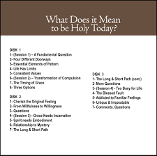 What Do Different Colours Mean What Does It Mean To Be Holy Today Cd 25 Don Bisson Featuring