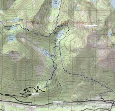 pratt map pratt mountain talapus lake trail