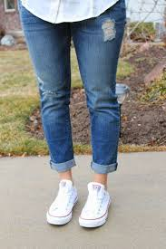 Skinny Jeans And Converse 95 Best White Converse Images On Pinterest Casual Shoes