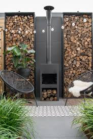 best 25 outdoor wood burning fireplace ideas on pinterest wood