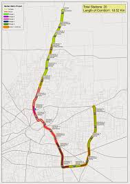 Metro Route Map by Travel Multan 2014 08 03
