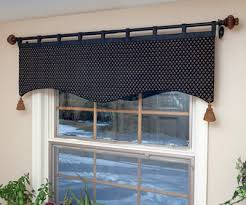 Board Mounted Valance Ideas Tab Top Window Valance Maybe For The Kids Ocean Themed Bathroom