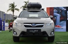subaru hybrid 2016 2016 subaru xv facelift launched in bangkok m u0027sian debut set for