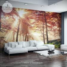 Amazon Wall Murals by Wall Ideas Forest Wall Mural Amazon Deciduous Forest R10101 Wall