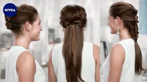 Frisuren Zum Selber Machen Nivea by Frisuren Für Styling Anfänger Nivea Hair