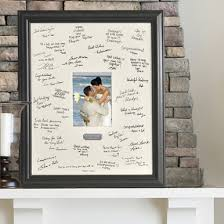 engravable guest book engraving plate and wedding signature frame guest book signature