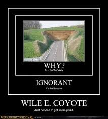 Wile E Coyote Meme - wile e coyote very demotivational demotivational posters