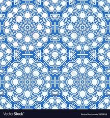 Moorish Design by Intricate Moorish Eastern Pattern Royalty Free Vector Image