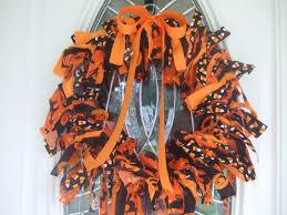 Halloween Wreath Tutorial by Remodelaholic Halloween Decorating Ideas Rag Wreath Tutorial