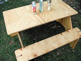 Wood Camping Table Camping Table Part Deux 1927 Countryside Lane