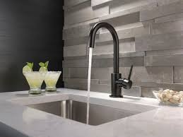 stainless steel kitchen faucets 14 best the kitchen in black white images on pinterest delta