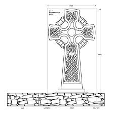 a haunted projects celtic cross other tombstones