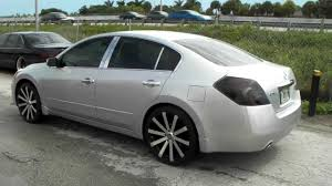 nissan altima coupe rims www dubsandtires com 20 inch velocity vw12 12 wheels 2010 nissan