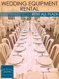 wedding equipment rental wedding equipment rental equipment rentals