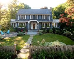 Design Your Own Front Yard - houses front home landscaping ideas laurieflower 003 make your