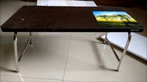 Bed Desk For Laptop by Unboxing Bed Study Laptop Table Laptop Table Study Table Youtube