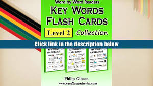 audiobook key words flash cards level 2 key words flash cards