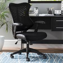 tenafly mesh desk chair ergonomic office chairs you ll love wayfair