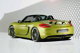 green porsche boxster speedart sp81 r based on porsche boxster s