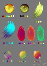Colorschemer Neon Hair Palettes By Starshipsorceress On Deviantart
