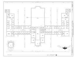United Center Floor Plan File Fifth Floor Plan St Elizabeths Hospital Center Building