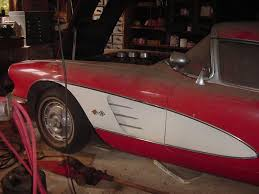 Man Buys Barn Full Of Cars 1959 Corvette Barn Car Found In Wisconsin Corvette Sales News