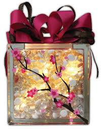 How To Decorate Glass Blocks 195 Best Silhouette Glass Block Ideas Images On Pinterest Glass