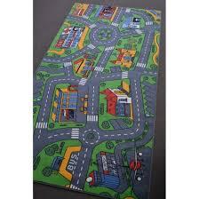 carpet play mat big city 100x100cm play mats