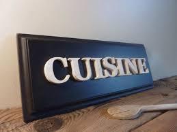 cuisine plaque plaque de porte pour la cuisine