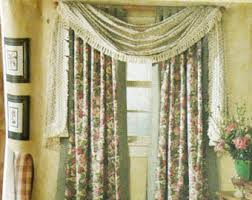 Cafe Curtains For Living Room Balloon Curtain Etsy