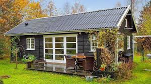 black and white danish summerhouse by small house bliss tiny