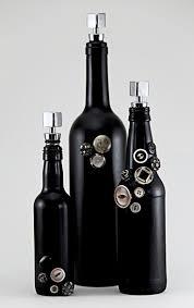 Wine Bottle Halloween Crafts by 1337 Best Bottle U0026 Jar Art Images On Pinterest Crafts Decorated