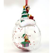 chip and dale bauble ornament
