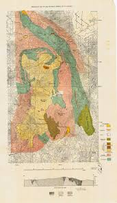 Map Of San Diego County Sdag Online Historical Geological Maps San Diego County