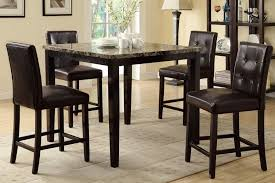 High Dining Room Sets by Modern Counter Height Dining Room Sets Blend Of Dark And Light