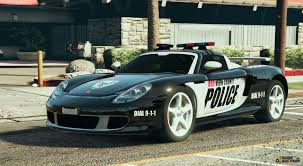 police porsche carrera gt cop for gta 5
