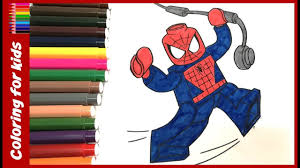 colouring sheets color lego spiderman coloring pages